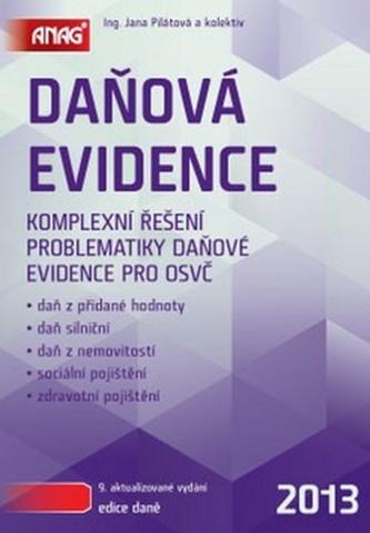 Daňová evidence 2013