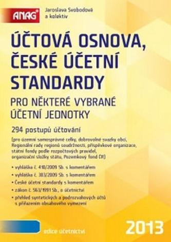 Účtová osnova, České účetní standardy 2013