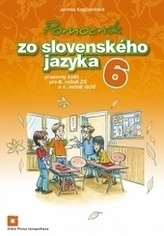 Pomocník zo slovenského jazyka 6 - pracovný zošit