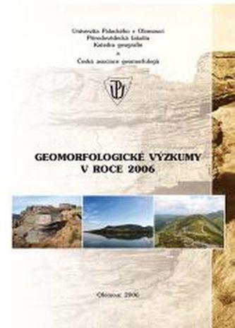 Geomorfologické výzkumy v roce 2006