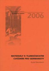Materiály k tlumočnickým cvičením pro germanisty
