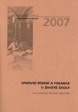 Správní řízení a finance v životě školy