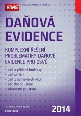 Daňová evidence 2014