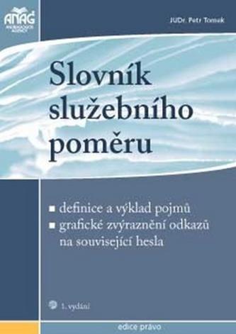 Slovník služebního poměru