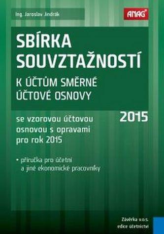 Sbírka souvztažností k účtům směrné účtové osnovy 2015