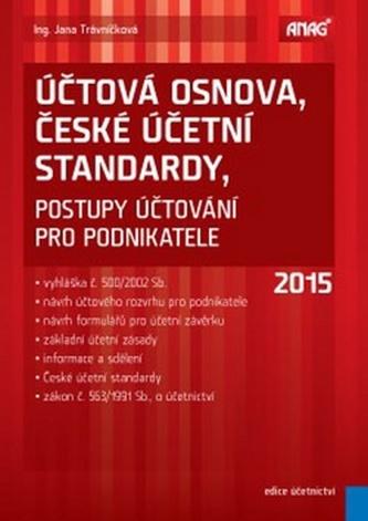 Účtová osnova, České účetní standardy 2015