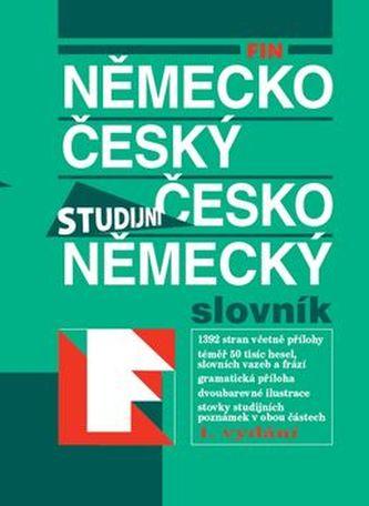 FIN Německo český česko německý slovník Studijní