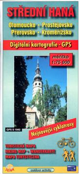 Střední Haná 1:75 000     Olomoucko, Prostějovsko, Přerovsko, Kroměřížsko