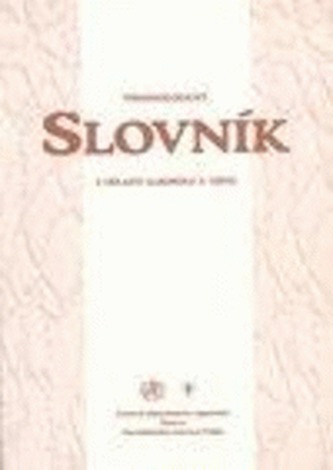 Terminologický slovník z oblasti alkoholu a drog
