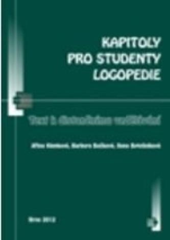 Kapitoly pro studenty logopedie