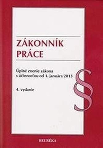Zákonník práce. Úzz, od 1.1.2012. 4. vyd.