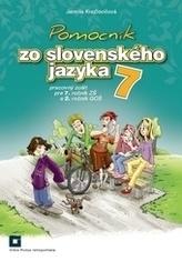 Pomocník zo slovenského jazyka pre 7. ročník základných škôl