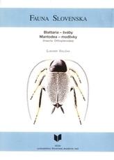 Fauna Slovenska I. Šváby – modlivky