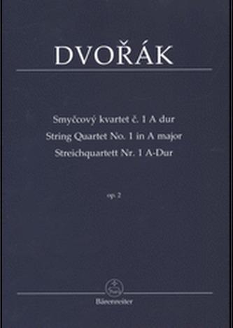 Smyčcový kvartet č. 1 A dur op. 2