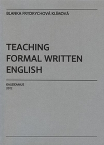 Teaching Formal Written English