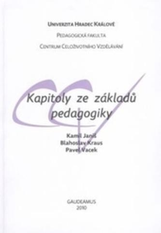 Kapitoly ze základů pedagogiky