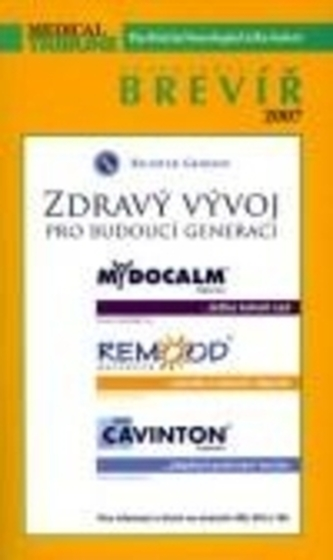 Pharmindex Brevíř 2007 - Psychiatrie