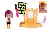 Panenka Cocodels Sephie plast 16cm s pokojíčkem + make-up doplňky v krabičce