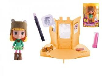 Panenka Cocodels Ottie plast 16cm s pokojíčkem + make-up doplňky v krabičce