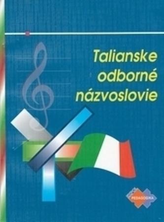 Talianske odb. názvoslovie pre konzervatóriá