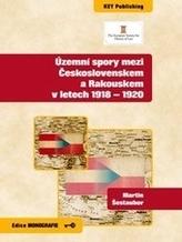 Územní spory mezi Československem a Rakouskem v letech 1918-1920