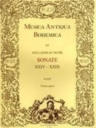 Sonate XXIV-XXIX