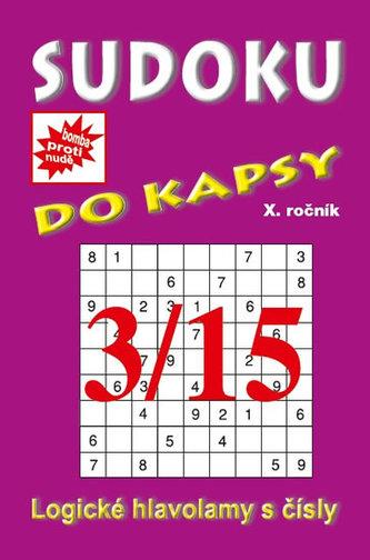 Sudoku do kapsy 3/2015 (fialová)