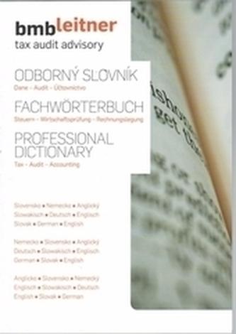 Odborný slovník  Dane - Audit - Účtovníctvo