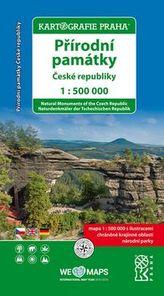 Přírodní památky České republiky 1:500000