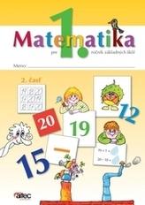Matematika pre 1. ročník ZŠ – 2. časť pracovná učebnica