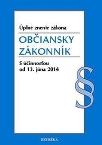Občiansky zákonník. Úzz, od 13.6.2014
