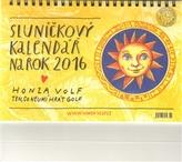 Sluníčkový kalendář 2016 - stolní