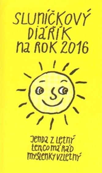 Sluníčkový diářík na rok 2016