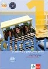 Direkt neu 1 – učebnica s pracovným zošitom a 2CD + prehľad nemeckej gramatiky