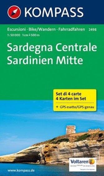 Sardegna Centrale / Sardinien Mitte, 4 Bl.