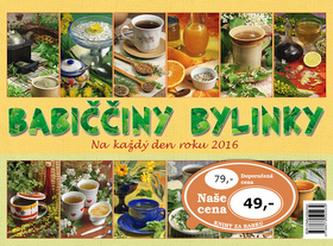 Babiččiny bylinky na každý den roku 2016 - stolní kalendář