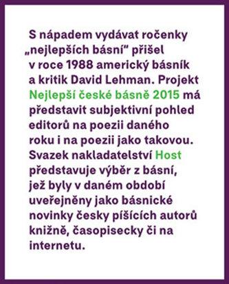 Nejlepší české básně 2015