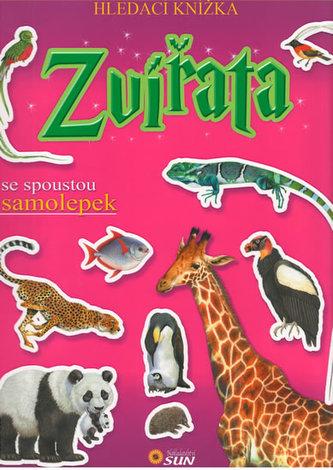 Zvířata - Hledací knížka se spoustou samolepek