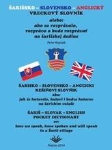 Šarišsko - slovensko - anglický vreckový slovník
