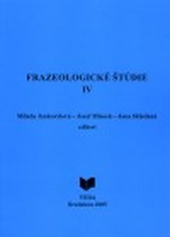 Frazeologické študie IV.