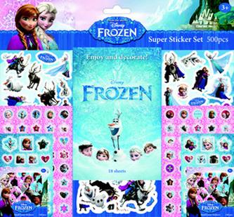 Super sticker set 500 kusů Ledové království