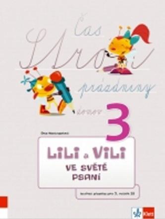Lili a Vili 3 ve světě pasní Tvořivá písanka