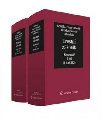 Trestní zákoník Komentář 1.+2.díl