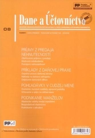 Dane a účtovníctvo 8/2014