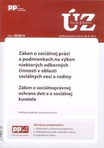 Úplné znenia zákonov 26/2014