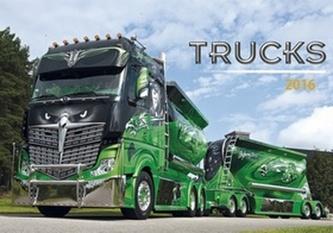 Trucks 2016 - nástěnný kalendář