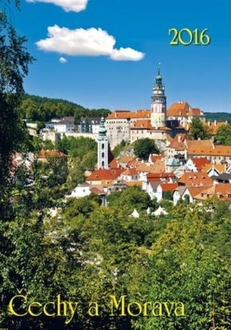 Čechy a Morava 2016 - nástěnný kalendář