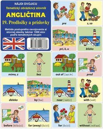 Angličtina 19. Predložky a príslovky