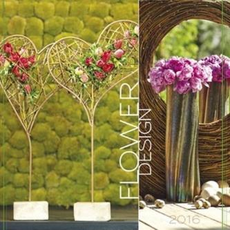 Flower design 2016 - nástěnný kalendář