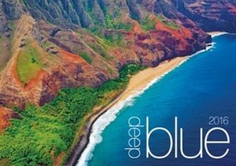 Deep blue 2016 - nástěnný kalendář